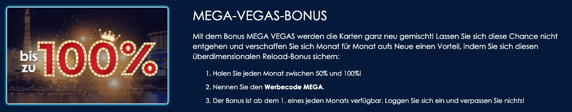 Casino Las Vegas Bonus Code