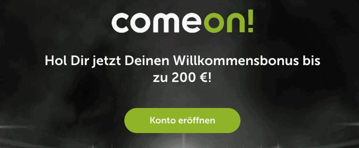 ComeOn Casino Bonus Code