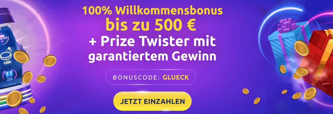 DrückGlück Bonus Code