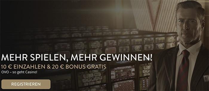 OVO Casino Angebote