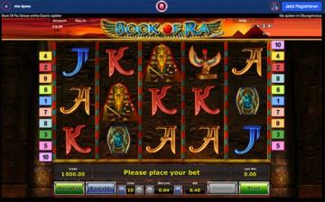 Ares Casino Book of Ra
