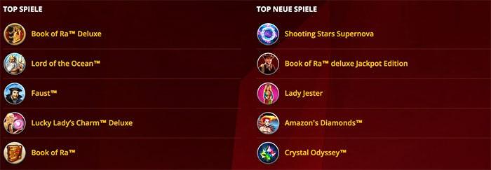 Top Spiele